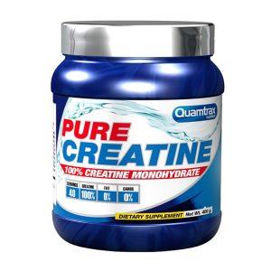 Pure creatine quamtrax