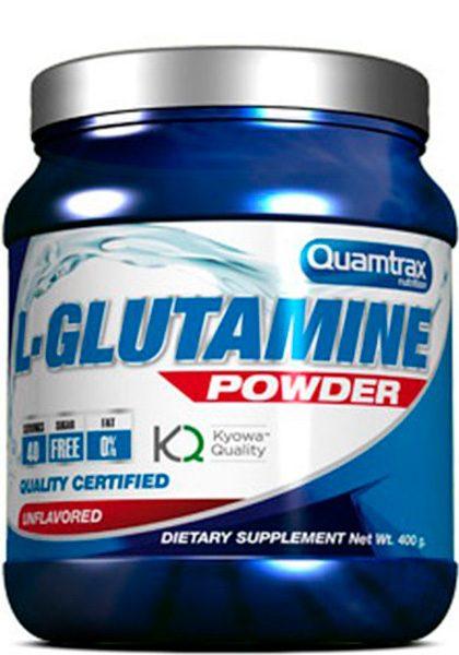 L-GLUTAMINE POWDER 400 G l glutamine quamtrax 400 gr 3