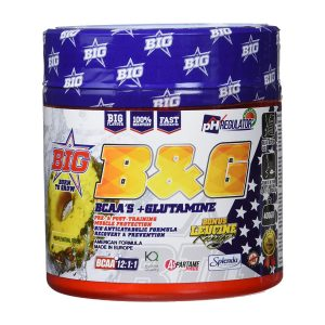 bcaasglutamina bg big 400 gr BCAAs+Glutamina B&G BIG 400 gr 4