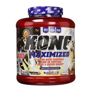 big kong gainer 3 kg KONG MAXIMIZED GAINER BIG 3 KG 5