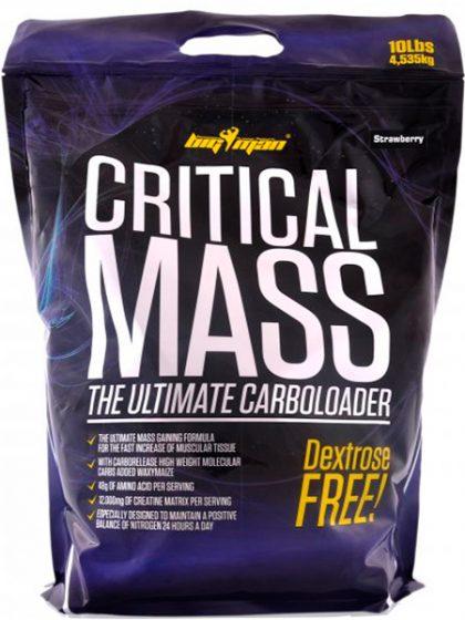 Ganador de Peso CRITICAL MASS BIGMAN 4,5 kg bigman critical mass 10 lbs 4