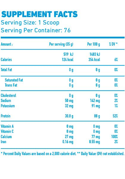 Hydro beef pro mex nutrition proteina de carne supplement facts