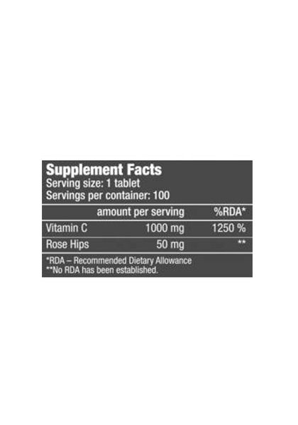Vitamina c rosa mosqueta 1000 biotech usa supplement facts