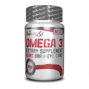 Aceite OMEGA 3 BIOTECH USA 90 capsulas omega 3 biotech usa 90 softgel 2