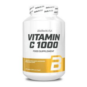 VITAMINA C 1000 BIOTECH USA 100 Tabletas vitamina c 1000 biotech usa 100 tabletas 5