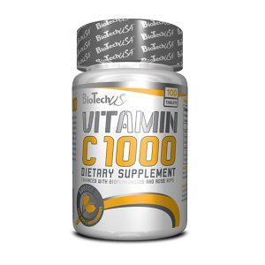 Vitamina C 1000 Biotech USA