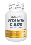 VITAMINA C 500 mg BIOTECH USA 120 tabletas masticables