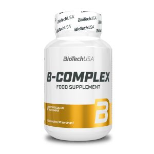 VITAMINAS B COMPLEX BIOTECH USA 60 Tabs vitaminas b complex biotech usa 60 tabs 5
