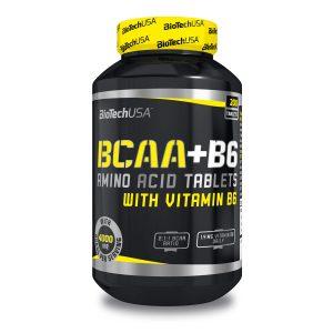 Aminoacidos BCAA + B6 BioTech USA