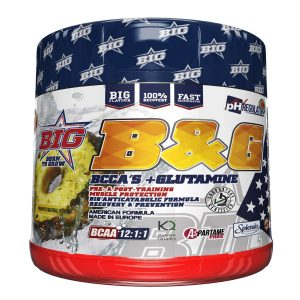 Aminoacidos B&G BCAA + Glutamine Big Nutrition