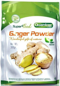 Jengibre en Polvo Ginger Powder Super Food Quamtrax