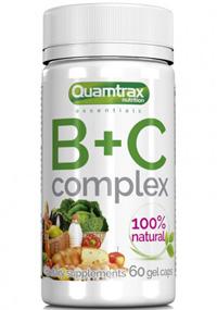 Multivitaminico B+C Complex Quamtrax 60 capsulas