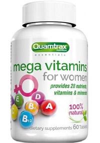 Vitaminas Mega vitamins for women quamtrax