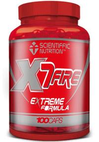 Quemagrasas X7 fire scientiffic nutrition-imagen