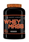 GANADOR DE PESO WHEY MASS 50/50 SCIENTIFFIC NUTRITION (2 kg)