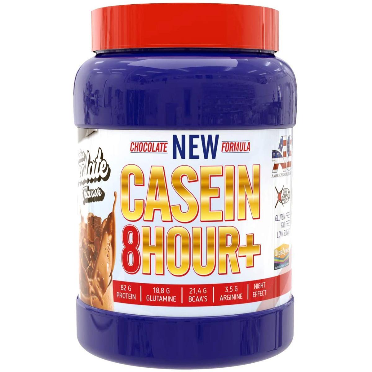 Caseina American Suplement Casein 8 Hour+ Digezyme (24,90€).