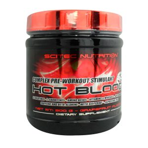 Pre-entreno Hot Blood 3.0 Scitec Nutrition