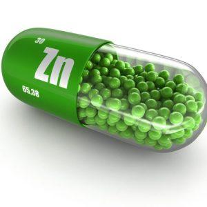 Zinc como anabólico natural. Beneficios y propiedades.