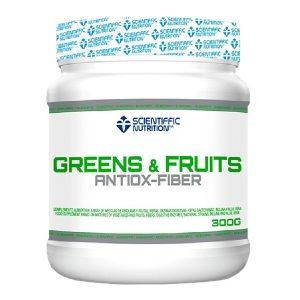 Greens & Fruits Scientiffic Nutrition 300 gr imagen