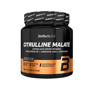 citrulina malato biotech usa citrulline malate 300 gr Citrulina Malato Biotech USA Citrulline Malate (300 gr) 4