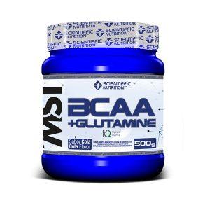 bcaa glutamina scientiffic nutrition 500 gr