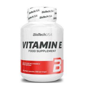 Vitamina E Biotech USA 100 capsulas vitamina e biotech usa 100 capsulas 1 3