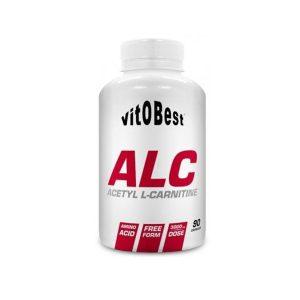 acetil l-carnitina alc vitobest 90 capsulas