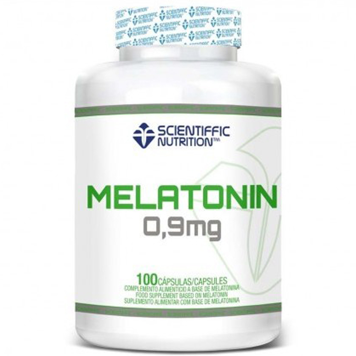 MELATONIN MELATONINA (0,9 Mg) Scientiffic Nutrition 100 Caps