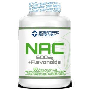 nac n acetil cisteína flavonoides 60 cápsulas NAC (N-acetil cisteína + Flavonoides) - 60 Cápsulas 4