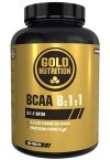 Aminoacidos BCAA 8-1-1 Gold Nutrition 200 tabletas