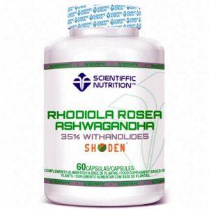 Rhodiola Rosea - Ashwagandha Scientiffic Nutrition