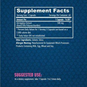 astragalus 500 mg haya labs 60 capsulas 1 Astragalus 500 mg Haya Labs 60 capsulas 3