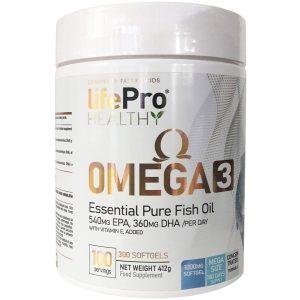 Omega 3 life pro 300 capsulas
